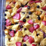 Mixed Berry French Toast Casserole