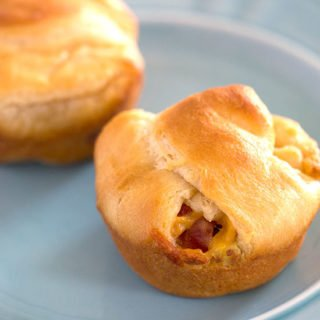 Bacon Egg and Cheese Crescents